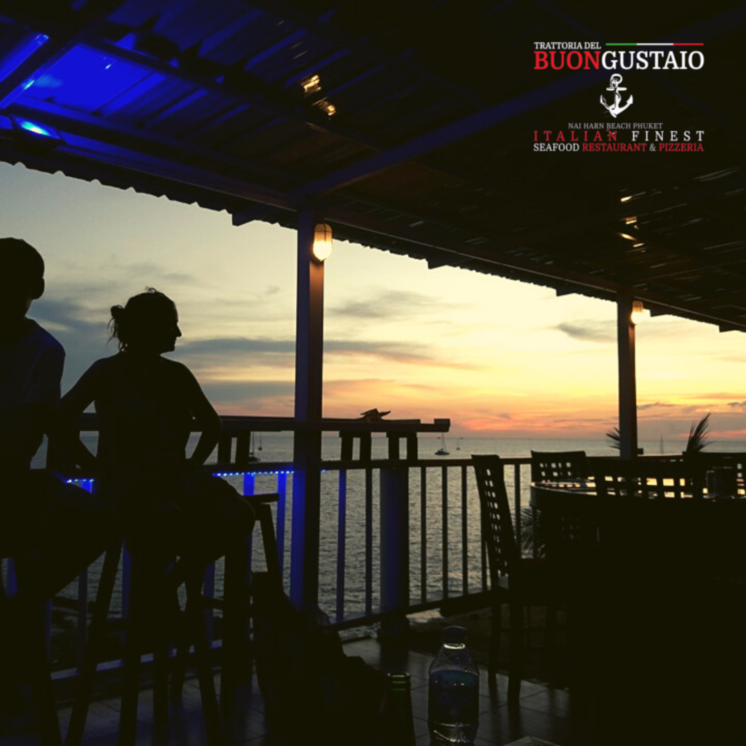 Italian Restaurant Phuket Lounge Sunset Nai Harn Bay