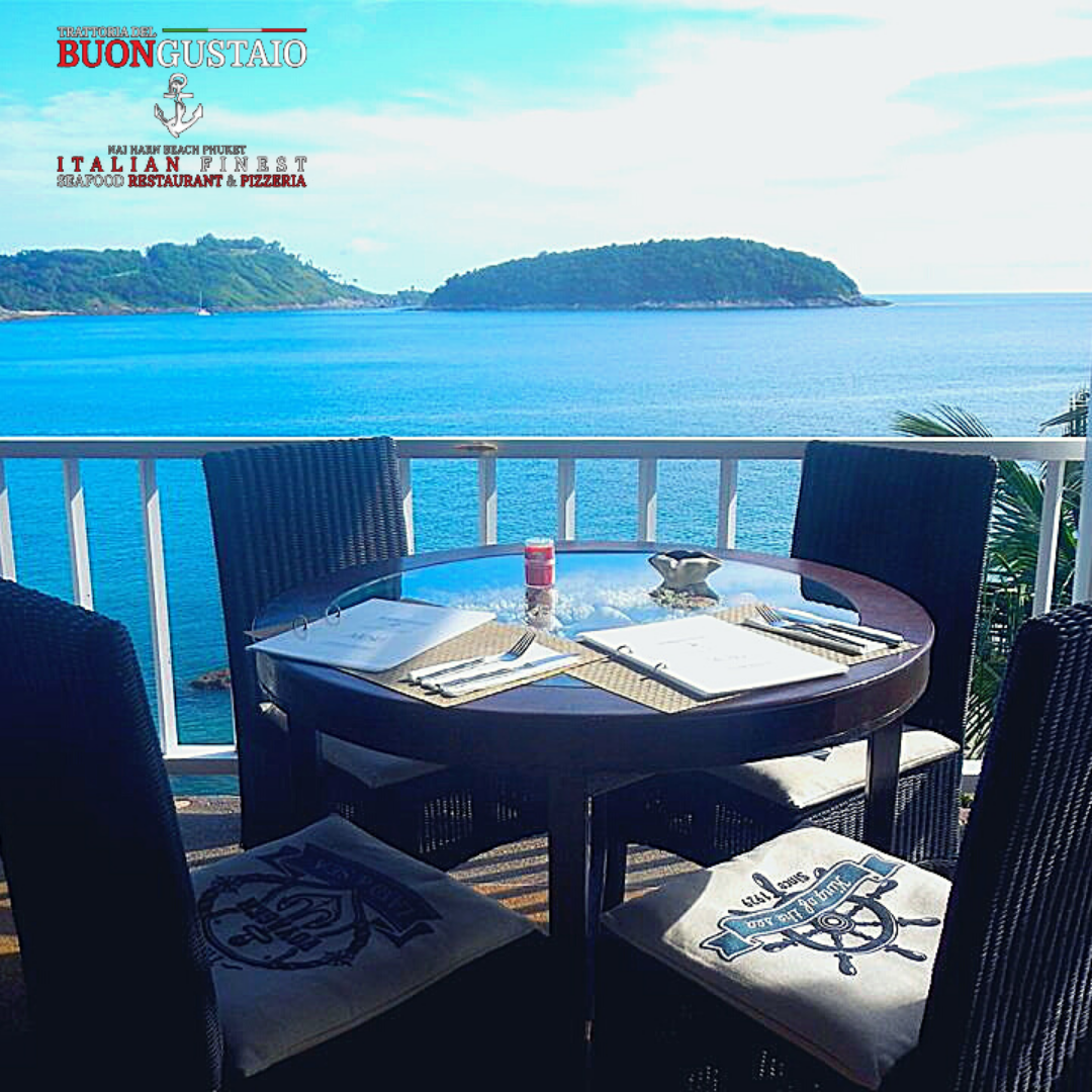 Italian Restaurant Phuket Sea View Nai Harn Bay